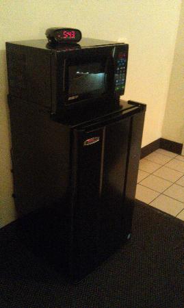 St. George Inn & Suites : Mini-fridge and microwave seemed new