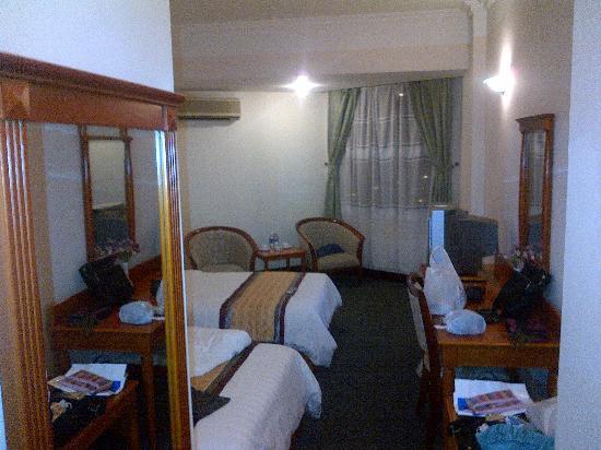 Van Hai Hotel : 広々した感じ