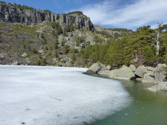 Vinuesa, إسبانيا: la laguna helada