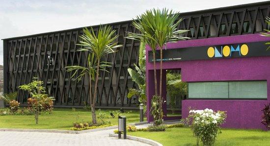 Onomo Hotel Libreville: Façade de l'hôtel Onomo Libreville Gabon