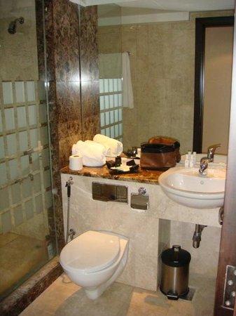 Al Jazira Club Hotel: bathroom