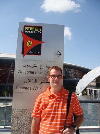 Al Jazira Club Hotel: Ferrari World