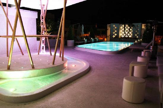 Dream South Beach: Pool Roof