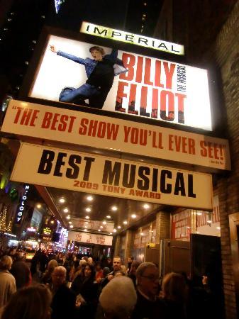 Billy Elliot the Musical: Cartel del teatro