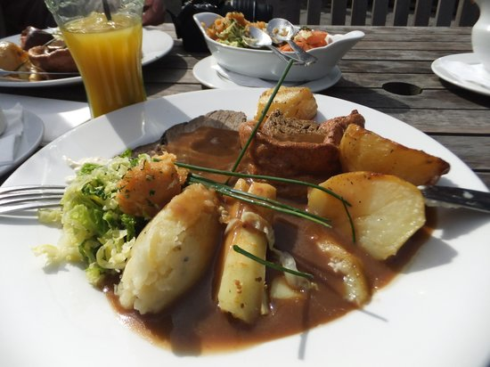 The Crown: Roast beef and Yorkshire pudding