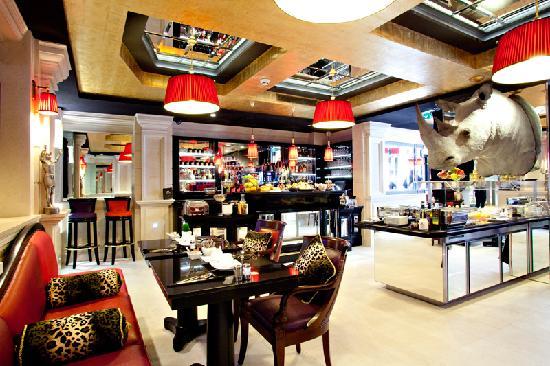 Maison Albar Hotel Paris Champs-Elysées: Breakfast room