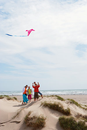 Greenacres Holiday Park - Haven: Kite flying at Greenacres