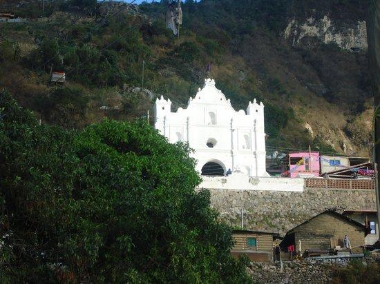 Santa Catarina Palopo, Guatemala: Iglesia colonial