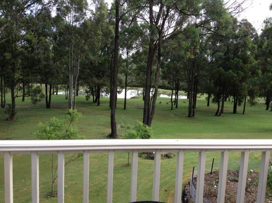 Tidaki Lodge: View from the Loft room