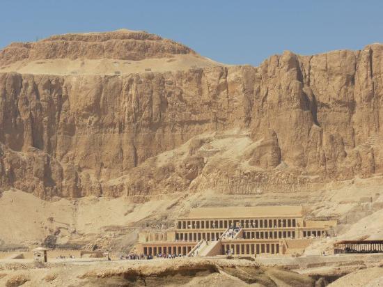 Hotel Kareem: Tempel of Hatsjepsut (4 km. from the hotel)