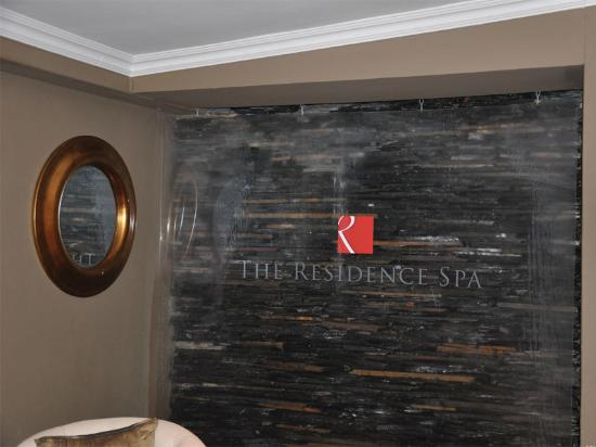 The Residence Boutique Hotel: Spa and Sauna entrance