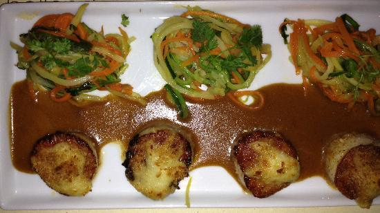 Philippe Restaurant and Lounge: Scallops