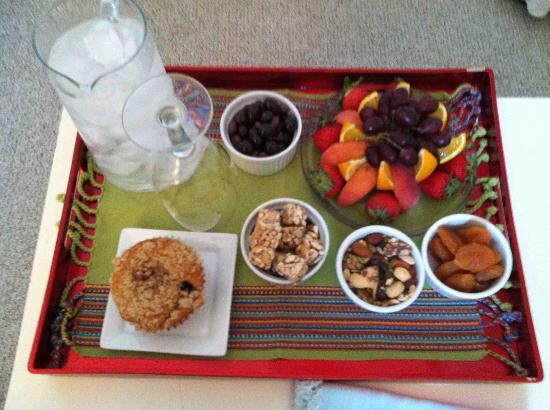 Asbury Park Inn: My snack!