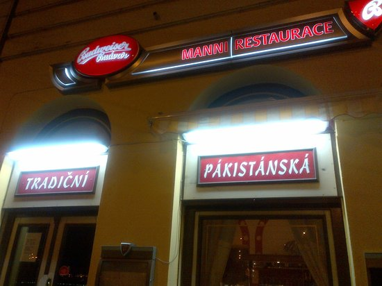 Manni Restaurant: Look out for the restaurant! The signboard doesn't bulge out so you might miss it.