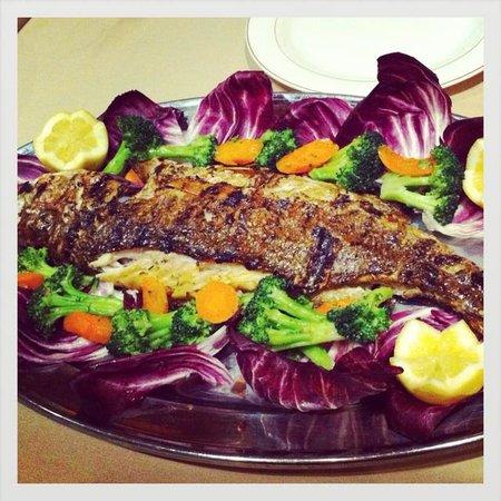 Logan Inn: sea bass
