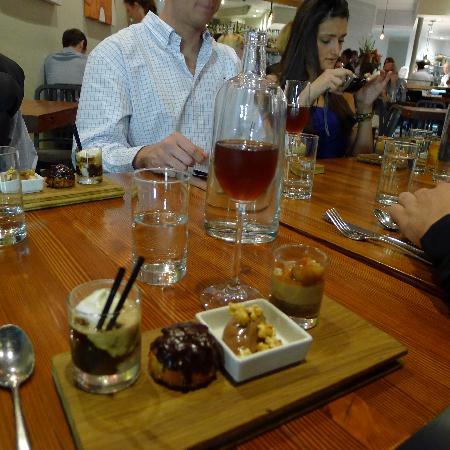 Local Table Tours: Dessert sampler at OAK at Fourteenth.