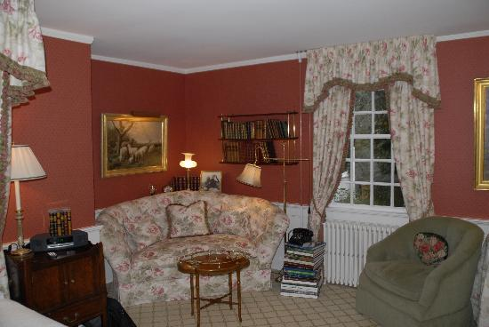 The Charlotte Inn: Beautiful Bedroom Rm# 21