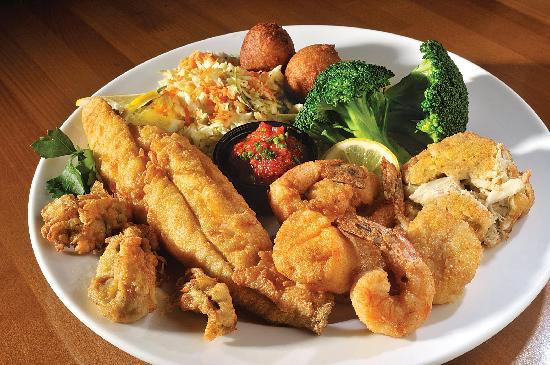 The Dunes Restaurant: Fried Seafood