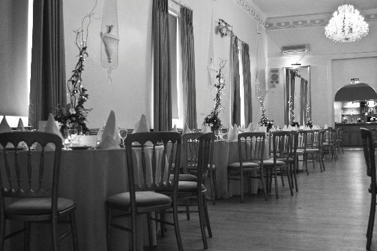 The Crown Hotel: the ballroom