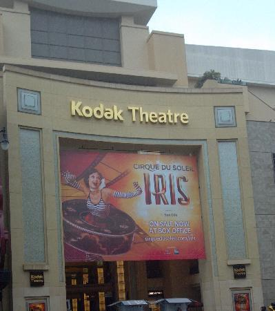 Glitterati Tours: Iris, a spectacular Cirque du Soleil presentation on Hollywood Blvd.