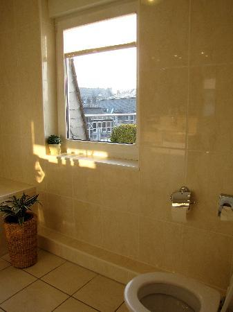 Hotel Beethoven: Bathroom with a view...