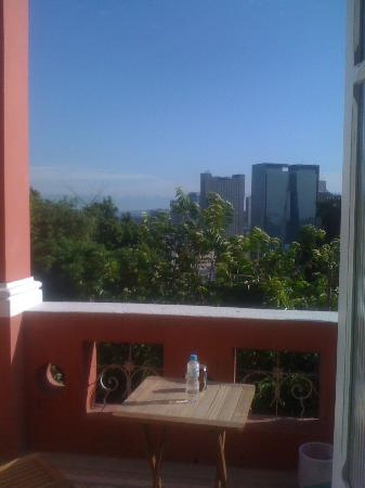 Bossa in Rio Hostel: view from the master suite