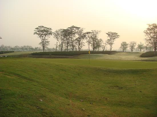 Burra Sahib's Bungalow: The golf course