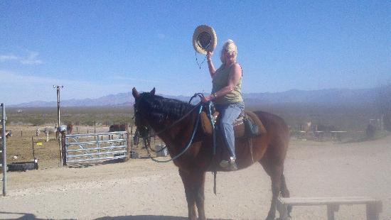 Stagecoach Trails Guest Ranch: Ready for first ride