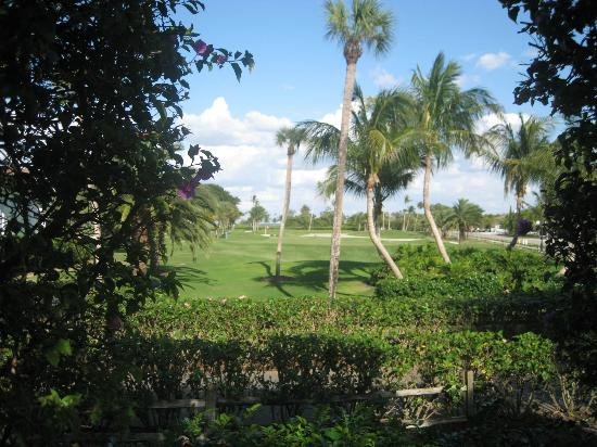 Gasparilla Inn & Club: View of golf course from the Inn property.