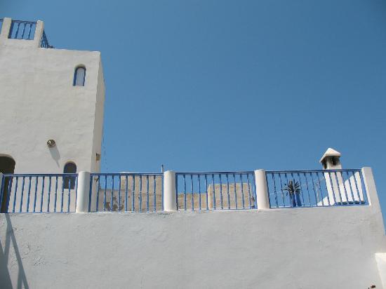 Riad du Figuier: La grande terrasse