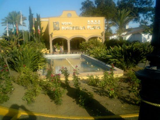 Marbella Playa Hotel: Hotel Eingang