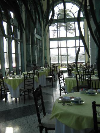 Henry Morrison Flagler Museum: The cafe in the Pavillion