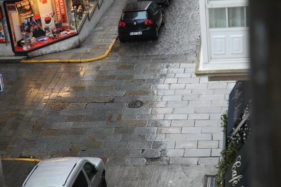El Suizo: Desde la habitación: Llovía!