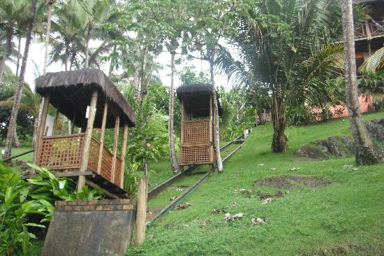 Itacare Eco Resort: a kind of elevator that takes us to the rooms