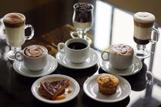 Hotel Villa Florencia: Café Gourmet
