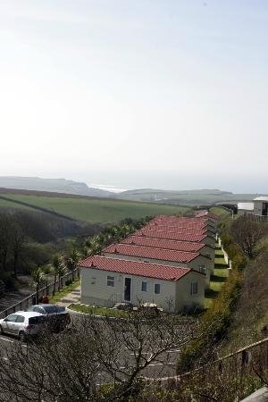 Sandymouth Holiday Park: View from site