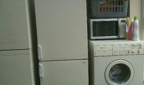 June's B&B: Laundry-Dining Room