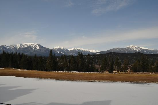 Bighorn Meadows Resort: View from our room