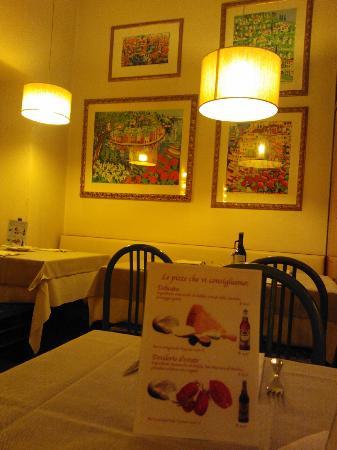 Ristorante Pizzeria Redentore: Athos Faccincani, angolo artistico