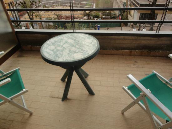 Grand Hotel Ambasciatori: balcone
