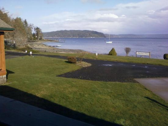 The Waterfront at Potlatch Resort: View from balcony