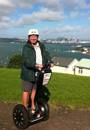 MagicBroomstick (Segway) Tours: The view from a Segway from North Head