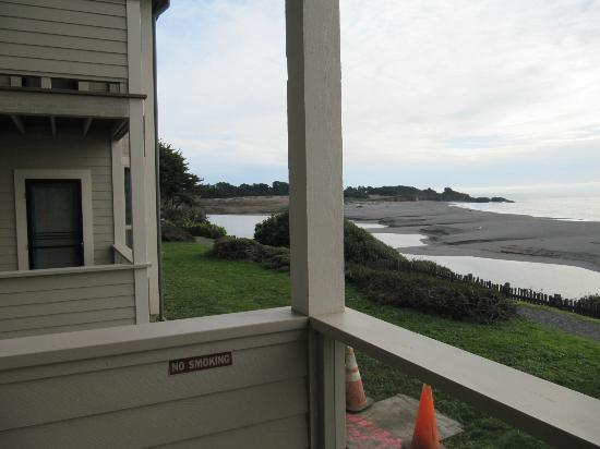 Seacliff Motel on the Bluff: View