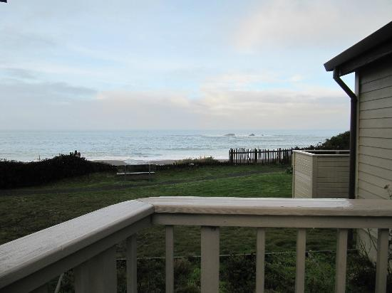 Seacliff Motel on the Bluff: Ocean view