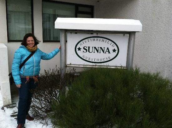 Guesthouse Sunna: Arrival