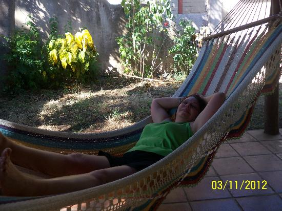 Papagayo Village: Love the hammock!