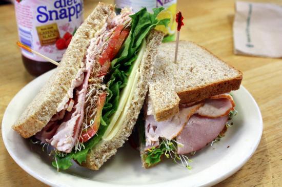 Wild Oats Bakery & Cafe: Ham & Turkey Sandwich