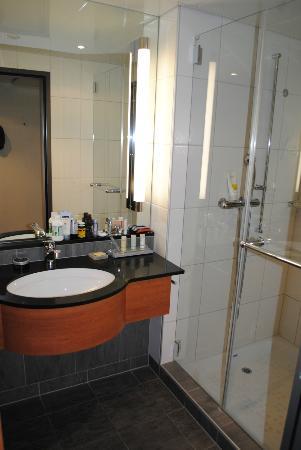 Radisson Blu Hotel, St. Gallen: The Bathroom