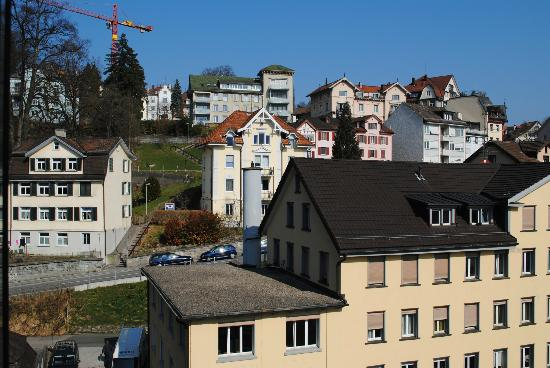 Radisson Blu Hotel, St. Gallen: Nice view from the room