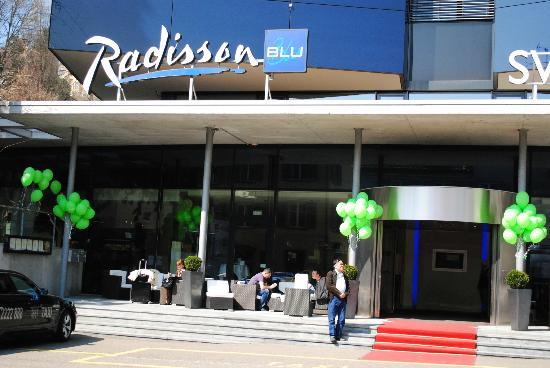 Radisson Blu Hotel, St. Gallen: Hotel Facade
